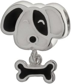 Individuality Beads Sterling Silver Dog Charm. Womens Fashion Designs addc4686a9