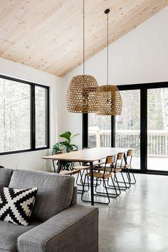Dining Room Wall Decor, Dining Room Design, Modern Tiny House, Modern House Design, Modern Southwest Decor, Neutral Bedroom Decor, Scandinavian Home, Living Room Modern, Minimalist Home