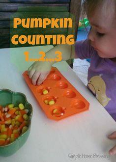 pumpkin counting 123