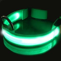 LED Pet Collar Night Safety Dog Flashing Collar