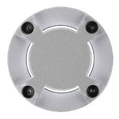 Abdeckung für LED PLOT ROUND, 4 Beam, silbergrau / LED24-LED Shop
