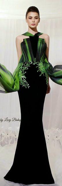 Lucys blog the haute stream...: TAREK SINNO Haute Couture for Spring/Summer 2014- LadyLuxury