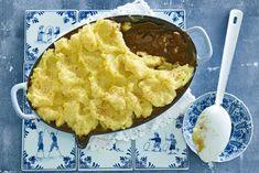 Heerlijk mals stoofvlees onder een zachte aardappelpuree, dat is winter - Recept - Allerhande