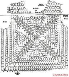 Captivating Crochet a Bodycon Dress Top Ideas. Dazzling Crochet a Bodycon Dress Top Ideas. Filet Crochet, Pull Crochet, Mode Crochet, Crochet Motifs, Crochet Diagram, Crochet Chart, Thread Crochet, Crochet Granny, Crochet Stitches