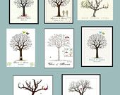 DIY Unique Wedding Guestbook Idea Signature Fingerprint Tree PDF FILE Choose your colors Small Medium Large. $19.50, via Etsy. Wedding Guest Tree, Diy Wedding, Wedding Trees, Fingerprint Art, Diy Craft Projects, Crafts, Craft Ideas, Tree Print, Deco Table