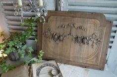 Boiserie ancienne Brocante de charme atelier cosy.fr