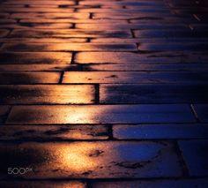 Nuit sous la pluie - null