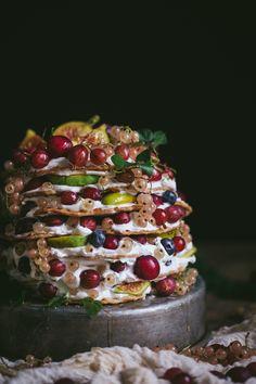 Gooseberry Icebox Cake | Adventures in Cooking