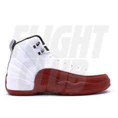 Air Jordan 12 Retro (gs) White Black Varsity Red 153265-110
