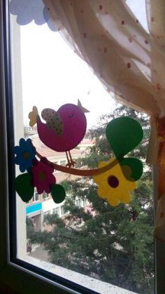 #Bilge# 23 nisan sınıf camlarımız...