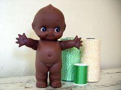 vintage black kewpie doll