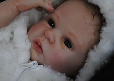 Reborn Baby Girl Doll - was Shannon by Ann Timmerman - NO RESERVE