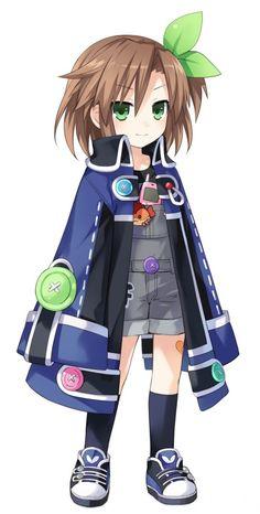 Compa (childhood) / Hyperdimension Neptunia series