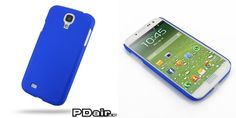 PDair Rubberized Hard Cover for Samsung Galaxy S4 SIV GT-I9500 (Blue)