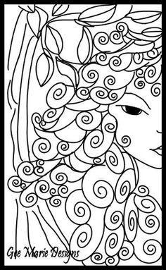 Silk painting practice