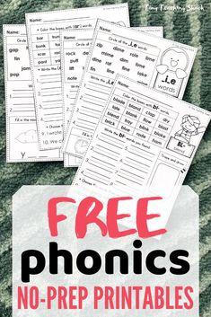 Tiny Teaching Shack: Order of Teaching Phonics Teaching Phonics, Primary Teaching, Phonics Activities, Kindergarten Language Arts, Kindergarten Games, First Grade Freebies, Free Math, Free Fun, Cvce Words