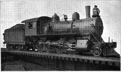NW 2-8-0 Steam Locomotive Class W