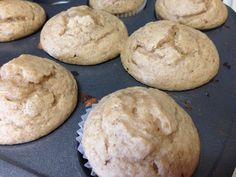 21 Day Fix Banana Bread Muffins - Adventures of a Shrinking Princess Day Fix Recipes Oatmeal) 21 Day Fix Desserts, 21 Day Fix Snacks, 21 Day Fix Diet, 21 Day Fix Meal Plan, Healthy Desserts, Fixate Recipes, Vegan Recipes, 21dayfix Recipes, Oats Recipes