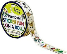 Passover Stickers on a Roll   Tips for a Kid-friendly Passover Seder