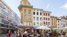 Biel/Bienne, Switzerland   Nidaugasse Biel - Switzerland Tourism Switzerland Tourism, Beaux Villages, Belle Villa, Bern, Florida, Street View, City, Places, Travel