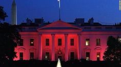 We turned the Whitehouse Red!