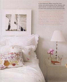 Bedroom inspiration via domino magazine
