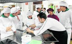 Durante todo el mes de Noviembre tenemos actividades gastronómicas en la Escuela de Hostelería de Laredo