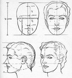 how to draw human face proportions Drawing Lessons, Drawing Techniques, Life Drawing, Book Drawing, Anatomy Reference, Drawing Reference, Face Reference, Art Sketches, Art Drawings