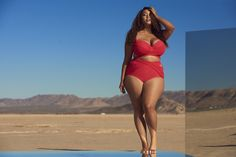 69ae66a9686ee Dive into the hot new bathing suits straight from blogger Gabi Gregg aka   gabifresh.
