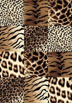 "Transitional Safari Animal Print 8x11 Modern Area Rug Actual 7' 10""x10' 6"" | eBay"