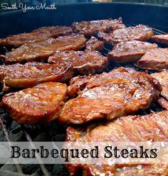 South Your Mouth: Barbequed Steaks