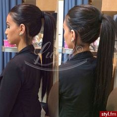High ponytail 130%density straight affordable full lace wig for black women lace front human hair wigs with baby hair