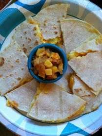 The kids are grown, now what?: Gluten Free Breakfast Quesadillas
