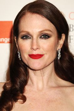 Julianne Moore Hair color: Burn Auburn Skintone: Light golden Undertones: Warm Why it works: Sometimes, the best hair color is the one that looks the most natural. Here, Moore's auburn hue contains plenty of brown, making the color look especially believable, and stunning.