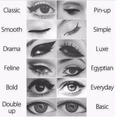 Winged eye liner | Cat eye
