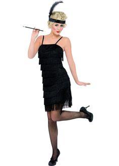 1920's Flapper Girl Fancy Dress- idea for costume