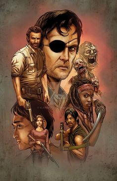 The Walking Dead by Kevin-McCoy-Art on DeviantArt