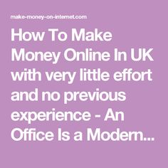 How To Make Money Online In UK with very little effort and no previous experience  https://make-money-on-internet.com/profit-accumulator-uk