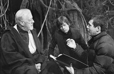 Alec Guinness, Mark Hamill, and Richard Marquand in Star Wars: Episode VI - Return of the Jedi (1983)