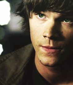 "Sam Winchester #Supernatural The ""shorter-longer"" hair was a good look for Sam. Man, I miss those days..."