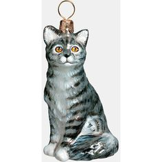 Joy to the World Collectibles 'American Shorthair Cat' Ornament