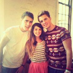 Zoe, Alfie and Marcus