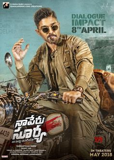 Naa Peru Surya Naa Illu India Dailogue Impact On 8th April - Social News XYZ #NSNIdailogueimpact on 8th April