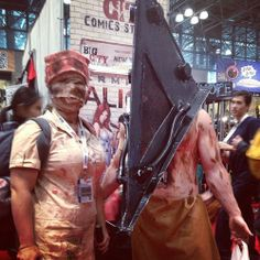 Excellent cosplay at #NYCC