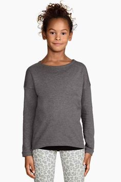 Bluză din molton   H&M