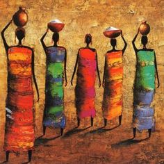 African Art gallery for African Culture artwork, abstract art, contemporary art daily, fine art, paintings for sale and modern art African Art Paintings, African Artwork, Arte Tribal, Tribal Art, Afrique Art, African Quilts, Art Premier, Inspiration Art, Afro Art