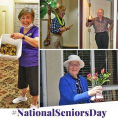 National Seniors Day was truly a special one as we celebrate the resilience and strength of our residents. This year hasn't been easy, but we still managed to stay positive here at Gilmore Gardens Retirement Residence in Richmond 😄 Senior Day, Emergency Response, Senior Living, Staying Positive, New Tricks, Retirement, Strength, Gardens, Positivity