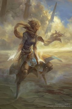 Peter Mohrbacher - Suphlatus, Angel of Dust