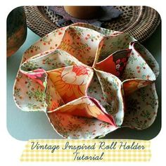 Vintage-Inspired Roll Cozy Tutorial - very interesting idea......