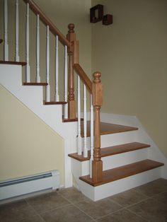 rampe d'escalier intérieur en bois - Recherche Google